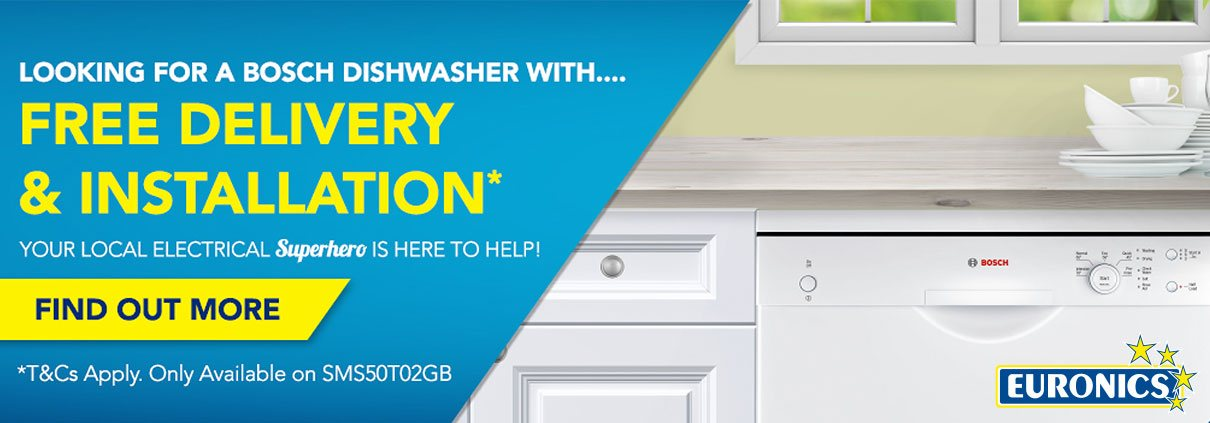 Albion Bosch Dishwasher with free delivery special offer