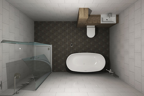 Bathroom and kitchen 3D planning and design service Albion BKE