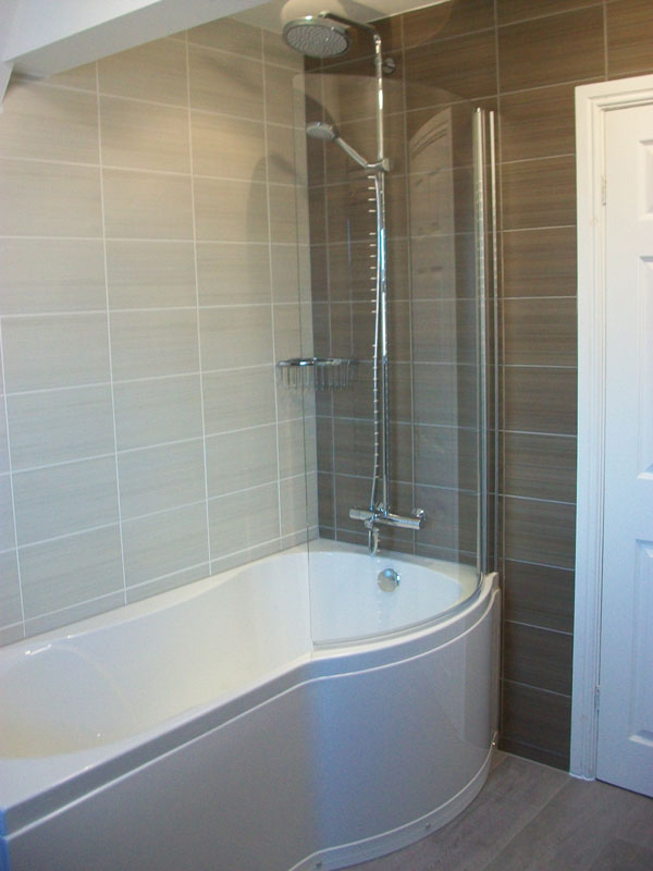 05 Shower Over Bath Tiles Albion Bathrooms Kitchens And
