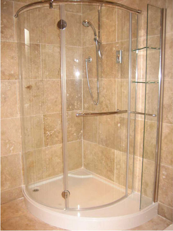 15 walk in shower large tiles albion bathrooms kitchens for Huge walk in shower