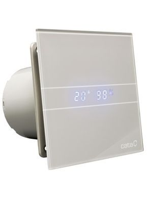 bathroom fan with clock face