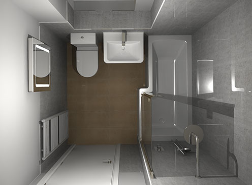 Bathroom Design and 3D Planning Service
