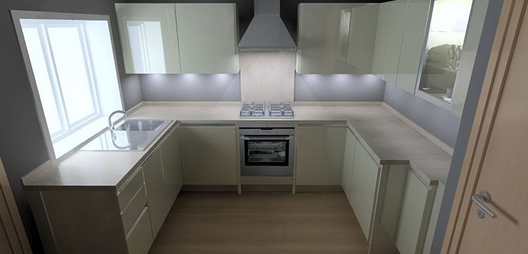 Modern Kitchen Designed to suit your space
