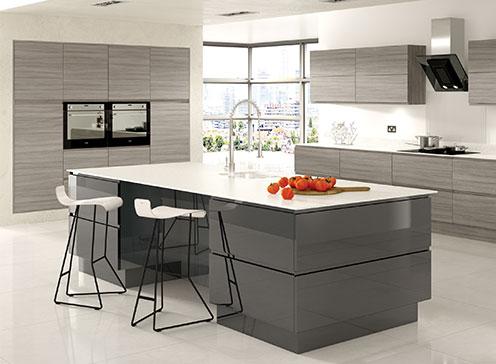 Modern Handle-less design kitchens