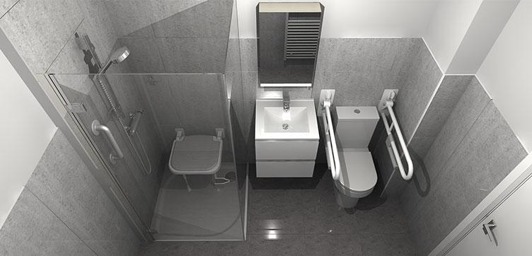 Wetroom and Easy Access Bathroom Design
